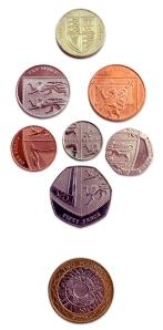 New UK coinage