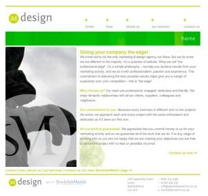SM Design website